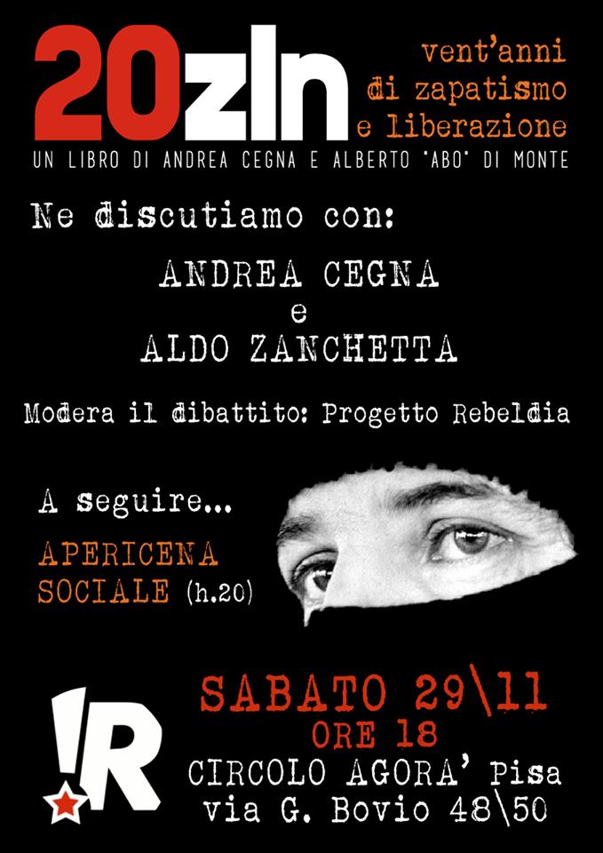 29.11.14 iniziativa sul Chiapas al circolo