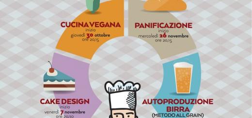 Partenza Corsi Cucina/Degustazioni