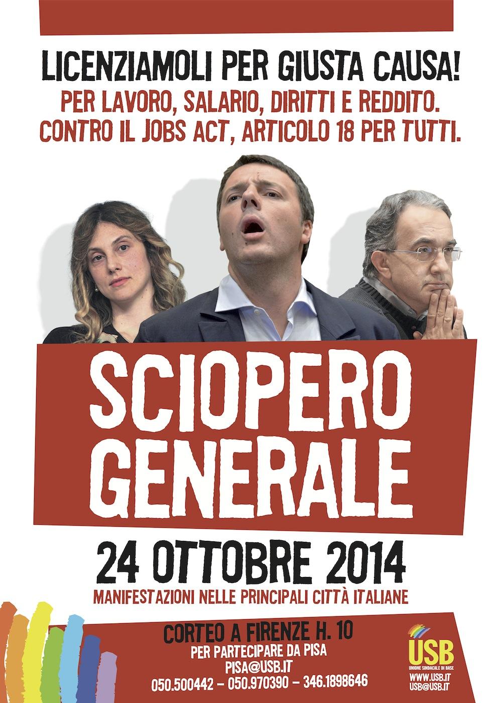 manifesto sciopero 24.10.14