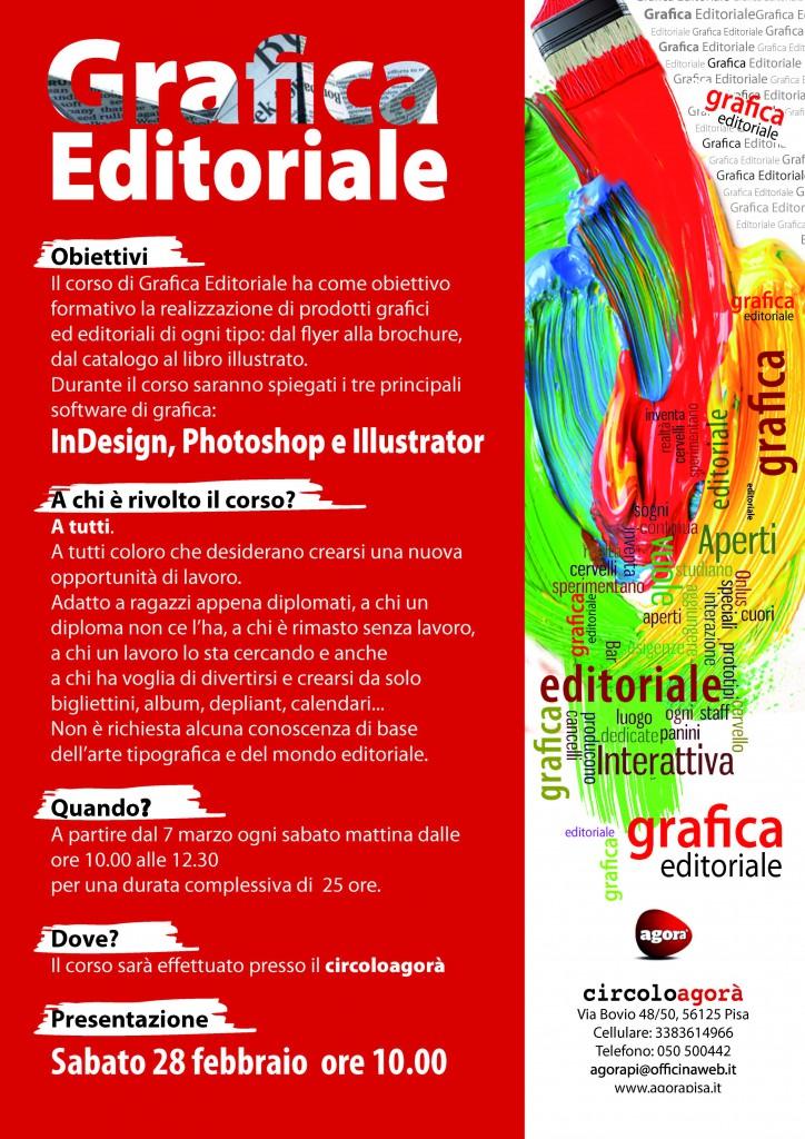 locandina grafica editoriale